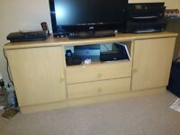 TV STAND real wood