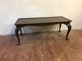Vintage Queen Anne coffee table