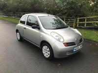 2005 Nissan Micra 1.2, low mileage with service history