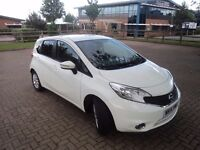 Used White Nissan Note 2014 Priced to sell