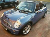 Superb Mini Cooper S convertable 1.6 supercharge 05plate