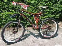 Carbon fibre Mountain Bike