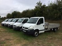 VAUXHALL MOVANO 2.5 DIESEL DROPSIDE TRUCKS 2007 REG *CHOICE OF 4* FULL SERVICE HISTORY DRIVES GREAT