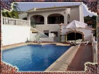 Villa Benimarco with swimming pool and jacuzzi, wifi (Benissa, Spain)