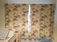 Laura Ashley Dinosaur Curtains