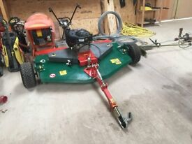 Wessex AR150 Rotary Mower/ Topper for sale