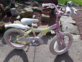 Girls raleigh miss bike