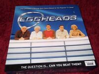 'EGGHEADS' Ultimate Challenge Quiz Game - As New.