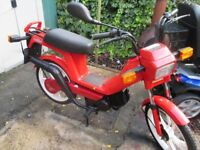 Moped ,with Valuable Reg