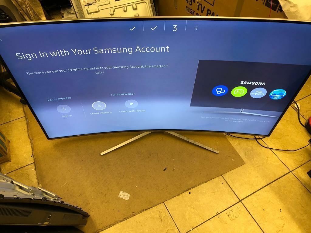 "Samsung 65"" 😳 4k UHD CURVED TV HDR Apps Netflix Youtube iptv | in  Droylsden, Manchester | Gumtree"