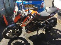 KTM DUKE 125 ABS 2015