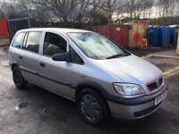 Vauxhall Zafira 7 seater mot March 2019