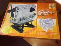 Build your own model internal combustion engine