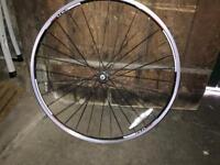 Front road bike wheel