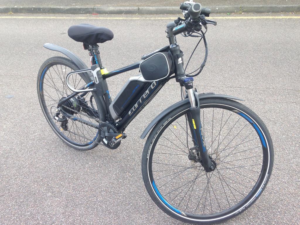 Carrera Crossfire E Mens Electric Ebike Bike Bicycle 17 Inch