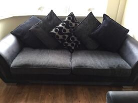 2 Second Hand DFS 4 Seater Sofas