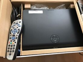 Sky Box with remote in perfect conditions