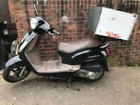 Sym fiddle 125 delivery scooter pizza moped nmax pcx sh
