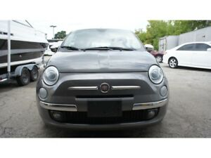 2013 Fiat 500 LOUNGE, LEATHER, ROOF