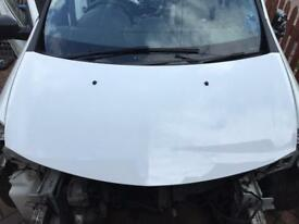 Clio sport RS 197 200 bonnet white
