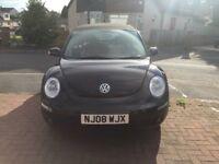VW Beetle Cabriolet / Convertible 1.6, Metallic Black 08 reg Low mileage