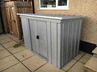Yard Master Metal Utility Store 6x4 bike shed
