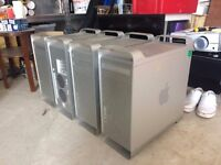 4x Apple Mac Pro & Power Mac G5 tower / desktop computers
