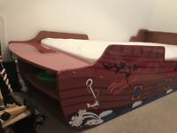 Pirate ship bed.