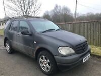 Mercedese Benz ML 270 Spare Parts Breaking