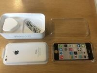 iPhone 5c white Very good condition