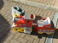 Peg perigo choo choo express battery operated train