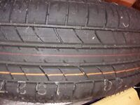 Bridgestone 195/65 R15 91H - NEVER USED, currently mounted on a Peugeot Spare wheel