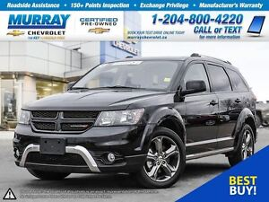 2016 Dodge Journey AWD 4dr Crossroad *Bluetooth, Leather Seats,