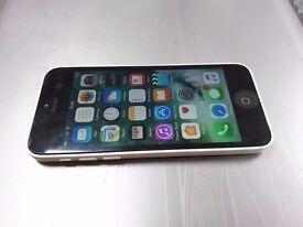 Iphone 5c white - 16gb - 2hand - unlock sim card