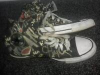 Converse size 7 The Joker Hi Top Trainers
