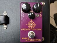 ANALOGMAN PRINCE OF TONE GUITAR OVERDRIVE/DISTORTION PEDAL.. HANDWIRED