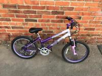 "Xmas Gift? ilverFox Dream Girls Bike. 20"" Wheels, Serviced. Free Lock, Lights & Delivery."