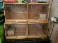 2 Double breeding cage wiht boxes still for sale