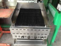 CHARCOAL COMMERCIAL BAKERS PRIDE CATERING PERI PERI GRILL MACHINE TAKEAWAY KITCHEN SHOP DINER MEAT