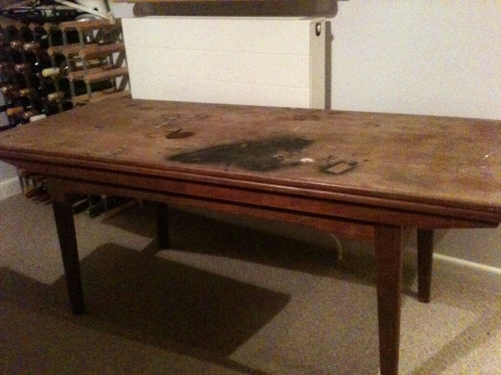 1960 39 S Teak Coffee Table That Turns Into A Dining Table For Restoration In Norwich Norfolk