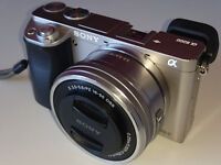 Sony a6000 α6000 interchangeable lens camera with APS-C Sensor & 16-50mm F3.5-5.6 lens