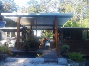 7 separate cabins, 6 built, 2 available, on a farm, near Noosa. Cootharaba Noosa Area Preview