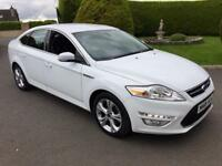 Ford Mondeo Titanium 2012, White, Full service history *Finance from £46 per week*