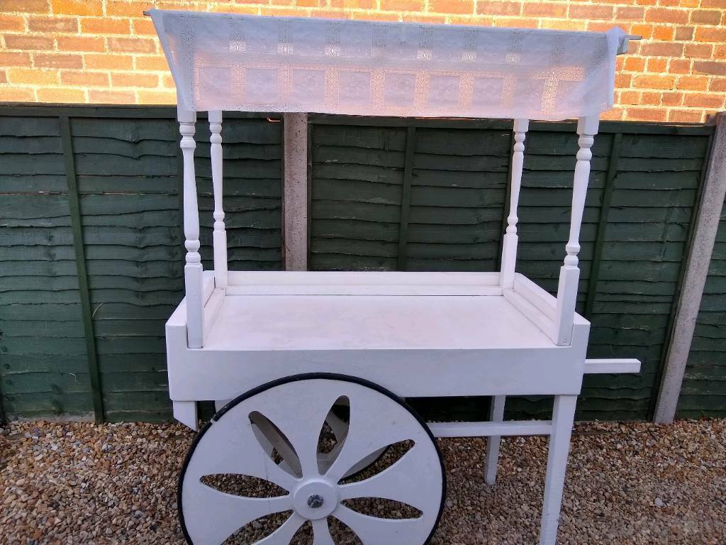 Sweet cart for wedding party business