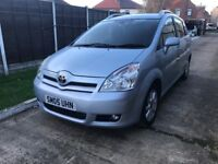 2005 Toyota Corolla Verso 2.0 d4d,7 seater