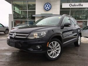2013 Volkswagen Tiguan Highline AWD Leather Sunroof