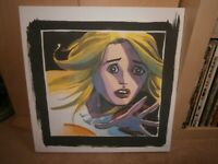 Heroes Claire Bennet canvas print from the TV series.