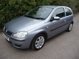 2006 Vauxhall Corsa 1.2 i 16v SXi 3dr LOW MILAGE CLIO YARIS AYGO C1 107 CHEAP USED CARS LEICESTER