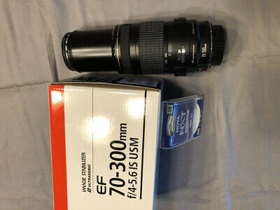 Canon EF 70-300mm f/4-5.6 IS USM IMAGE STABILIZER  Zoom Lens