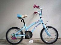 "(2055) 16"" APOLLO GIRLS CHILD CRUISER-STYLE BIKE BICYCLE Age: 5-7, 105-120 cm"